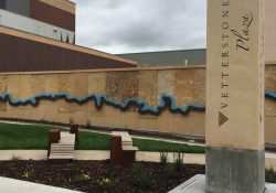 Vetter Stone Plaza Completed; Minnesota River Outline, Changing Lighting Featured Thumbnail