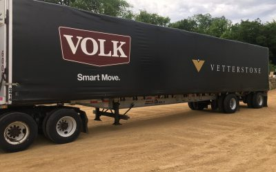 Vetter Stone Partners with Volk Transfer, Inc. to Transport Stone