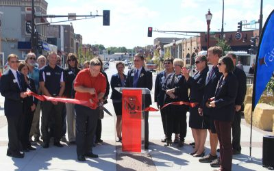 South Front Street Officially Open